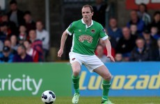 Roy Keane on hand to witness midfield masterclass from Cork's Colin Healy
