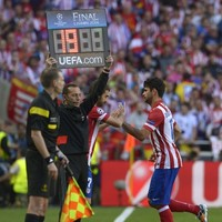 Costa's World Cup in doubt as he limps off NINE minutes into Champions League final