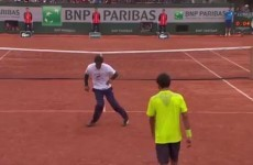 Tennis players stage epic dance battle during the French Open