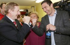 It's a knock-out* as Kenny Egan takes a seat in Clondalkin