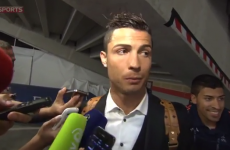 Third time lucky for Sky Sports as Ronaldo eventually agrees to interview