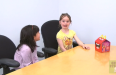 Kids react to McDonald's horrifying new mascot