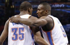 Surprise, surprise - Ibaka returns and OKC win Game 3 against the Spurs