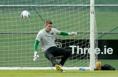 Man City teen Ian Lawlor put through his paces as he joins the Ireland squad in Malahide