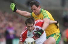 Michael Murphy evoked memories of Maurice Fitz with this brilliant sideline kick yesterday