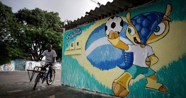 Green-haired leopards, chilli peppers, armadillos and more of the greatest mascots in World Cup history