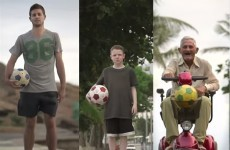 10-year-old Irish 'mini Messi' chosen to star in global World Cup ad
