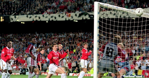 It's the anniversaries of two of the greatest injury-time goals in football history