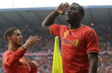 Lukaku bagged a hat-trick and Januzaj made his Belgium debut last night
