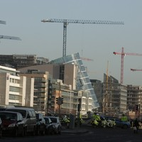 """NAMA promises """"the sight of cranes returning to Dublin's Docklands"""""""