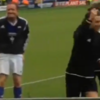 Harry Styles jocked Piers Morgan during Niall's charity football match... it's The Dredge