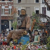 These giant, creepy puppets will be terrorising the streets of Limerick this summer