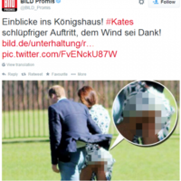 German tabloid publishes photo of Kate Middleton's bare bum