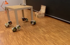 Robotic furniture transforms itself to suit you
