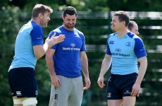 'It's all about what you do every day' - Heaslip focused on processes