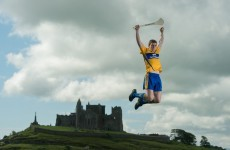 Snapshot - 5 inter-county hurlers, 1 trampoline and the Rock of Cashel