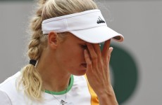 Bad week gets worse as Caroline Wozniacki dumped out of French Open