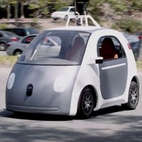 Google starts building its own self-driving cars which have no steering wheel or brakes