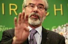Adams in Washington for post-Haass talks
