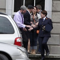 'I told her to ring Maurice McCabe': John Wilson shook hands with the Garda Commissioner today
