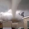 Man films unbelievable footage of tornado tearing through trailer park