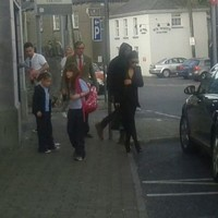 Are Kimye in Portlaoise? Twitter seems to think so