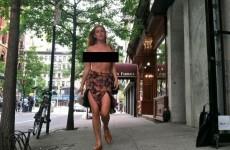Bruce Willis' daughter Scout walks around New York in the nip... It's The Dredge