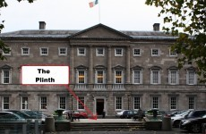The Dáil Plinth now has its own Twitter account