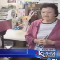 89-year-old lady uses golf club to fight off sword-wielding burglar