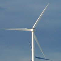Latest wind turbines for multinationals in Cork harbour energy project switched on