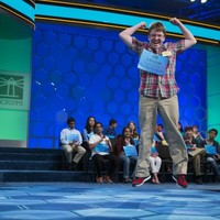 The world's most enthusiastic spelling bee contestant has charmed the internet