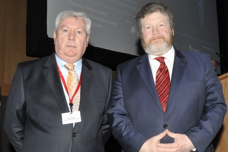 Daly and Reilly in 2012