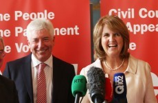 Labour's choice: Joan Burton is the favourite, but Alex White is banking on his message of renewal