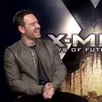 Michael Fassbender can do a mean impression of Sir Ian McKellen