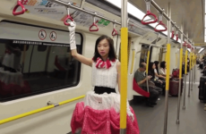 Have a busy public transport commute? You'll want some of this dress