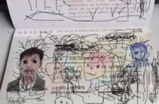 Kid uses dad's passport as a colouring book, gets them stuck in South Korea