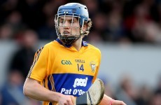 Shane O'Donnell 'pretty cheesed off' at missing out on Clare's Munster U21 hurling opener