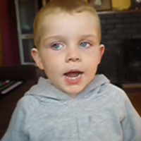 Adorable 4-year-old Irish kid gives the greatest rendition of Danny Boy you'll ever hear