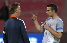 Van Gaal goes with the tried and trusted in Holland's final World Cup squad