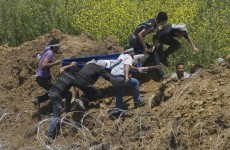 Fourteen people now dead as Israel opens fire on Syrian protesters along border