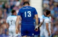 Brian O'Driscoll's final farewell cruelly cut short by injury