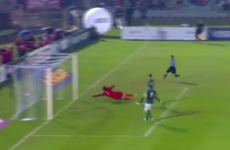 Roy Carroll makes wonder save on the double to thwart Cavani and Forlan