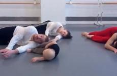Baby leads adults in unbearably cute interpretive dance