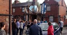 Gas explosion blasts through Dublin house