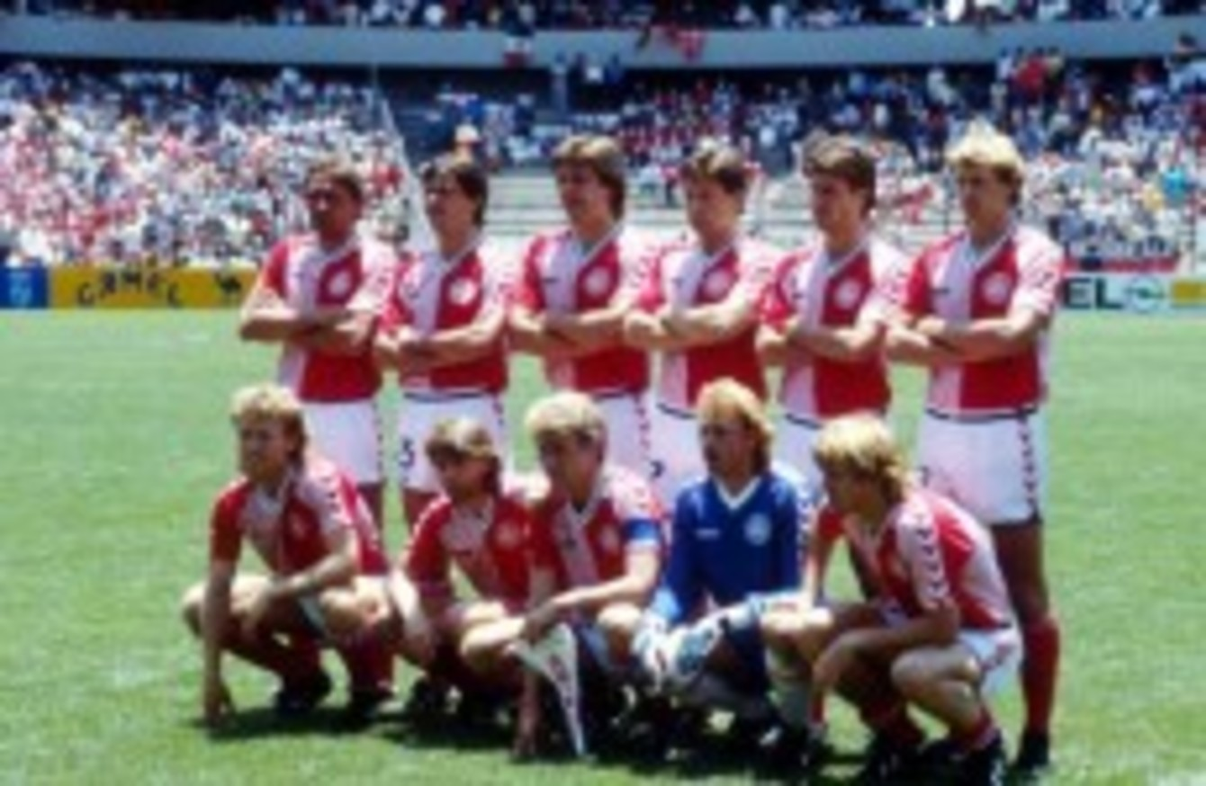 4cc6f2679 The cult World Cup teams we loved  Denmark 1986 · The42