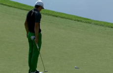This cliffhanger putt sat on the edge of the cup for 23 seconds... and then finally dropped