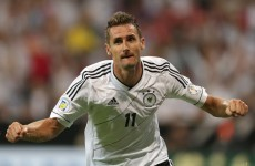 Germany plan to win the World Cup with just one striker... but don't worry, it's Miroslav Klose