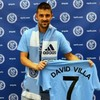 New York City FC present David Villa as their first-ever signing
