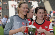 Former Galway footballer Niamh Fahey helps Arsenal to FA Cup win