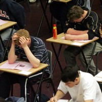 Almost 119,000 students are putting pen to paper this morning in state exams